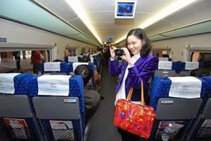 การเดินทางในจีน (中国交通) ตอนรถไฟ
