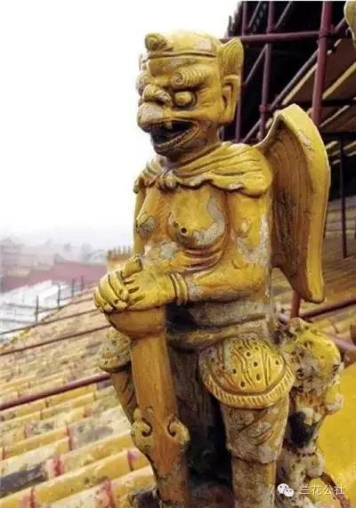 仙人走兽 - 行什 [xíng shén] = เทพเจ้าแห่งสายฟ้า