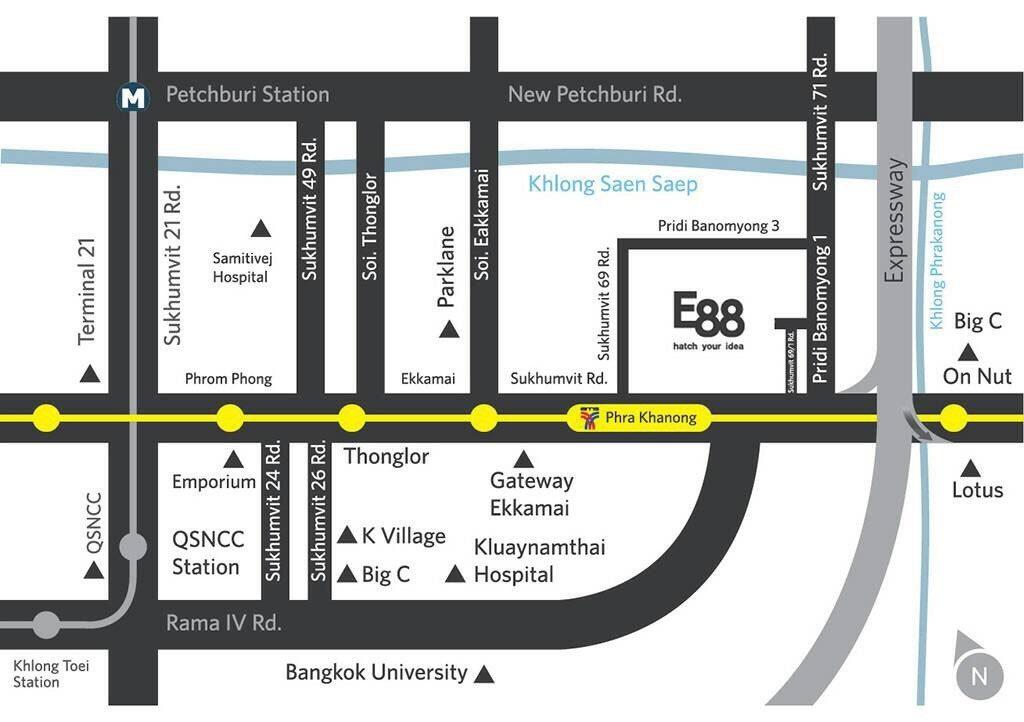 e88 map