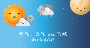 空气 VS 天气 VS 气候